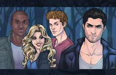 Teen Wolf - Hale Pack by Daunt