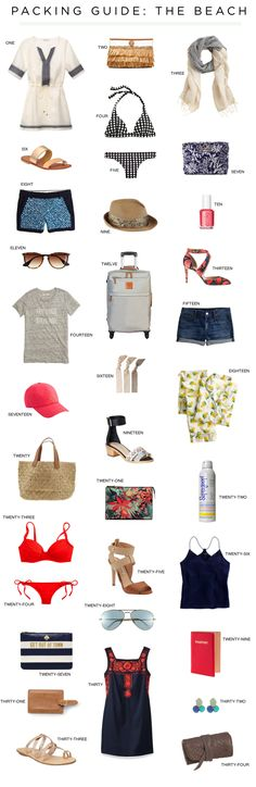 Packing Guide: The Beach