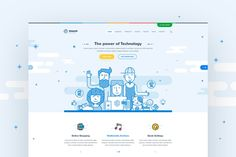 Utouch - App Startup Website PSD Template by themefire on Envato Elements - Uto. - Utouch – App Startup Website PSD Template by themefire on Envato Elements – Utouch – App Sta - Custom Website Design, Website Design Company, Wordpress Template, Wordpress Theme, Skype, Ecommerce Website Design, Website Design Inspiration, Psd Templates, Website Template