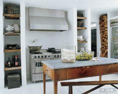 Rustic & modern kitchen