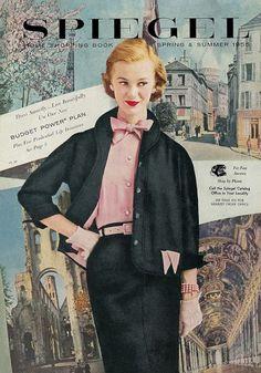 Catálogos vintage, un pequeño trozo de la historia de la moda