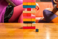 http://www.heelsandhulahoops.com #jenga #colores