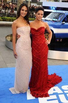 Jordana Brewster &  Michelle Rodriguez