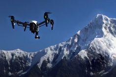 DJI inspire 1 drone's camera captures 4K video and 12 megapixel photos