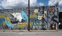 Tampa bay area on pinterest ybor city tampa florida and for City of tampa mural