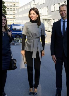 Royals & Fashion - Princess Mary attended the congress of the European Society for Medical Oncology, which was held in Copenhagen.