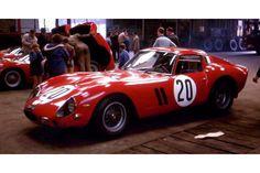 24 heures du Mans 1963 - Ferrari 250GTO #20 - Pilotes : Fernand Tavano / Carlo Maria Abate - Abandon
