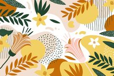 Download Abstract Floral Background for free
