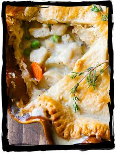 have some decorum: Life's Lesson N° 8: Chicken Pot Pie And a Sobering Thorn