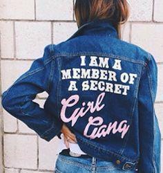 Girl. Gang.
