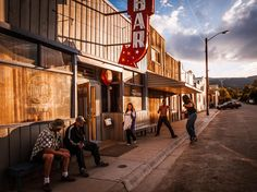 See a Saturday night scene in Hot Springs, Montana, in this National Geographic Photo of the Day.