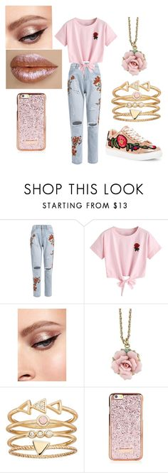 """Old Fashioned Rose Bud."" by katrinaevans-i ❤ liked on Polyvore featuring WithChic, 1928, LC Lauren Conrad and Liliana"