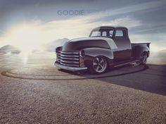 Chevy 3100 HotRod by GoodieDesign.deviantart.com on @deviantART
