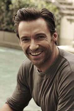 Hugh Jackman - such a smile.