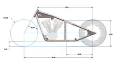 Custom Bobber Motorcycle Frames Buell Is 25 Inches Of Ground Clearance Too Low City Of Kenmore Ground Clearance Custom Bobber, Custom Bikes, Custom Motorcycles, Custom Sportster, Motos Bobber, Bobber Motorcycle, Bike Chopper, Chopper Frames, Virago 535