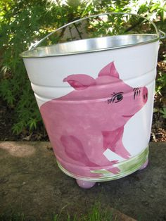 Pig+Bucket+by+bubee+on+Etsy,+$35.00