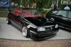 Vw Golf 3, Golf Mk3, Volkswagen Golf, Cabrio Vw, Vw Cabriolet, Convertible, Bbs Wheels, Hot Cars, Car Pictures