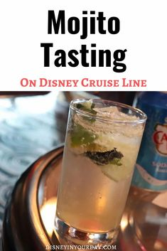 Want to try a number of different types of mojitos, learn about the history of the drink, and get tips for how to make the best mojitos? The mojito tasting on Disney Cruise line has you covered! And if you can't get on a cruise any time soon, this blog post shares lots of fun info, tips, and recipes! Disney Dream Cruise, Disney Cruise Ships, Best Cruise, Cruise Tips, Packing For A Cruise, Cruise Travel, Norwegian Cruise Line, Disney Fantasy, Disney World Planning