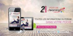 Toutes les informations du Forum E-learning Tunisie 2013 dans votre poche
