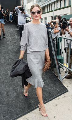 Olivia Palermo arriving at the Carolina Herrera in New York. See all of the model's best looks.