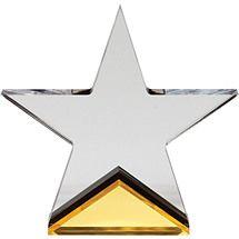 "4 x 6 1/2"" Lucite Star Award"