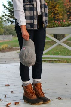 Belleoftheball45 || Bean Boots