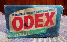 DETERGENTE EN BARRA ODEX......Década del 60...... Regalado por mi amigo del alma, CARLOS PREZZA......