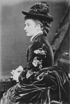 Princess Louise, Marchioness of Lorne, July 1875. Sixth child of Queen Victoria and Prince Albert.