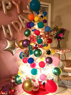 Birthday Tree, Ornament Wreath, Ornaments, Wreaths, Home Decor, Decoration Home, Door Wreaths, Room Decor, Christmas Decorations