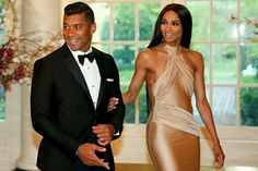 Ciara & Russell Wilson #LOVE them together #GOALS ♡♡♡