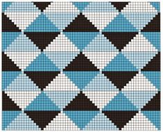 Triforce-iltalaukku pattern by Molla Mills Pixel Crochet, Crochet Chart, Diy Crochet, Bargello Patterns, Tapestry Crochet Patterns, Cross Stitch Pattern Maker, Cross Stitch Patterns, Knitting Charts, Knitting Patterns