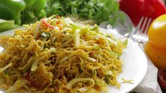 MAGGI DRY NOODLES | Restaurant Style Noodles with Maggi Noodles| Best Chinese Style Noodles - YouTube Maggi Recipes, Noodle Restaurant, Chinese Style, Noodles, Pasta, Ethnic Recipes, Youtube, Food, Macaroni