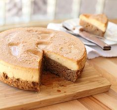 Brown Butter Chocoflan