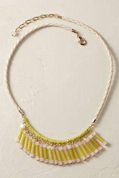 Jade Fringe Necklace - anthropologie.eu