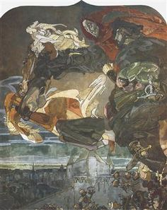 Collection of paintings by the artist Mikhail Vrubel . Paintings and creative works of famous Russian artist Mikhail Vrubel . Russian Painting, Russian Art, Famous Artists, Great Artists, Art Nouveau, Tarot, Renaissance Paintings, Art Database, Rembrandt