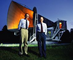 The accidental discovery of the Cosmic Microwave Background in 1964 by American radio astronomers Arno Penzias and Robert Wilson was the culmination of work initiated in the 1940s, and earned the discoverers the 1978 Nobel Prize.  https://en.wikipedia.org/wiki/Discovery_of_cosmic_microwave_background_radiation