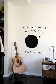 'Hole To Another Universe' Wall Sticker