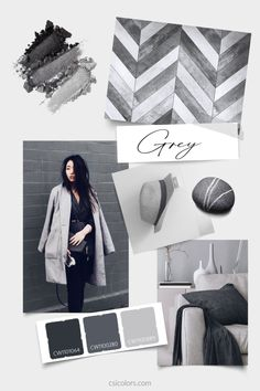 Color Trends, Gray Color, Shirt Designs, Grey, Collection, Gray