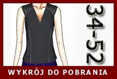 Bluzka dla biuściastych nr 1 - papavero