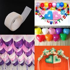 100X Glue Dots Permanent Adhesive Bostik Wedding Home Decor Glue Tape #Unbranded