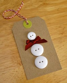 love this for tagging Christmas gifts! by elma