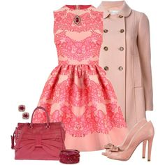 RED Valentino by laaudra-rasco on Polyvore featuring RED Valentino, Forever 21, R.H. Macy's & Co. and LE VIAN