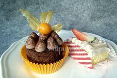 Cake bars de cava&fresas y chocolate