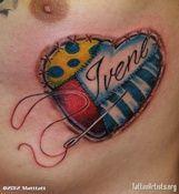 HEART FAMILY TATTOOS   family tattoos tattoo art matttatt s gallery 0 0 0