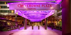 Bond Corporate Chauffeur service to the  Crowne Plaza Stamford - read guest reviews, view photos, and get the Best Price Guarantee.