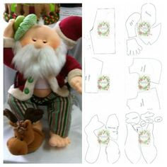 Powered by APG vNext Trial - duende navidad ,de la webPattern for cloth elf doll (in Hungarian, but you can easily figure it out).Things to make :) elf Ragdoll pattern free /Christmas decorated with felt padslike his tool apron Christmas Crafts For Gifts, Felt Christmas Ornaments, Christmas Sewing, Christmas Diy, Santa Doll, 242, Felt Patterns, Diy Weihnachten, Fabric Dolls