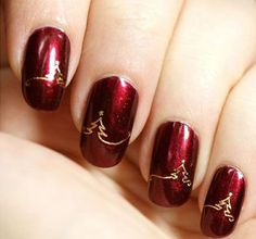 Put the finishing touch on your holiday outfit with an awe inspiring festive Christmas nail art design. From whimsical to chic to sophisticated, your beautifully manicured nails will be the hit of ...