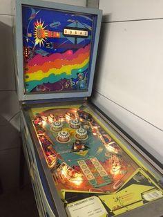 """1968 On Beam """"Bally """" Pinball Machine"""