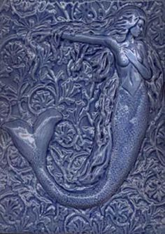 61 Best Mermaid Ceramic Tiles Images Mermaids Art Tiles