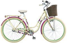 Ein außergewöhnliches Touren-Hollandrad! Das BBF Picnic Vintage Style, Vintage Fashion, Retro, Bicycle, Shopping, Damask, Tours, Bike, Bicycle Kick